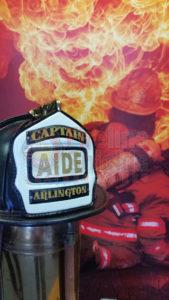 Firefighter Custom Helmet Shield