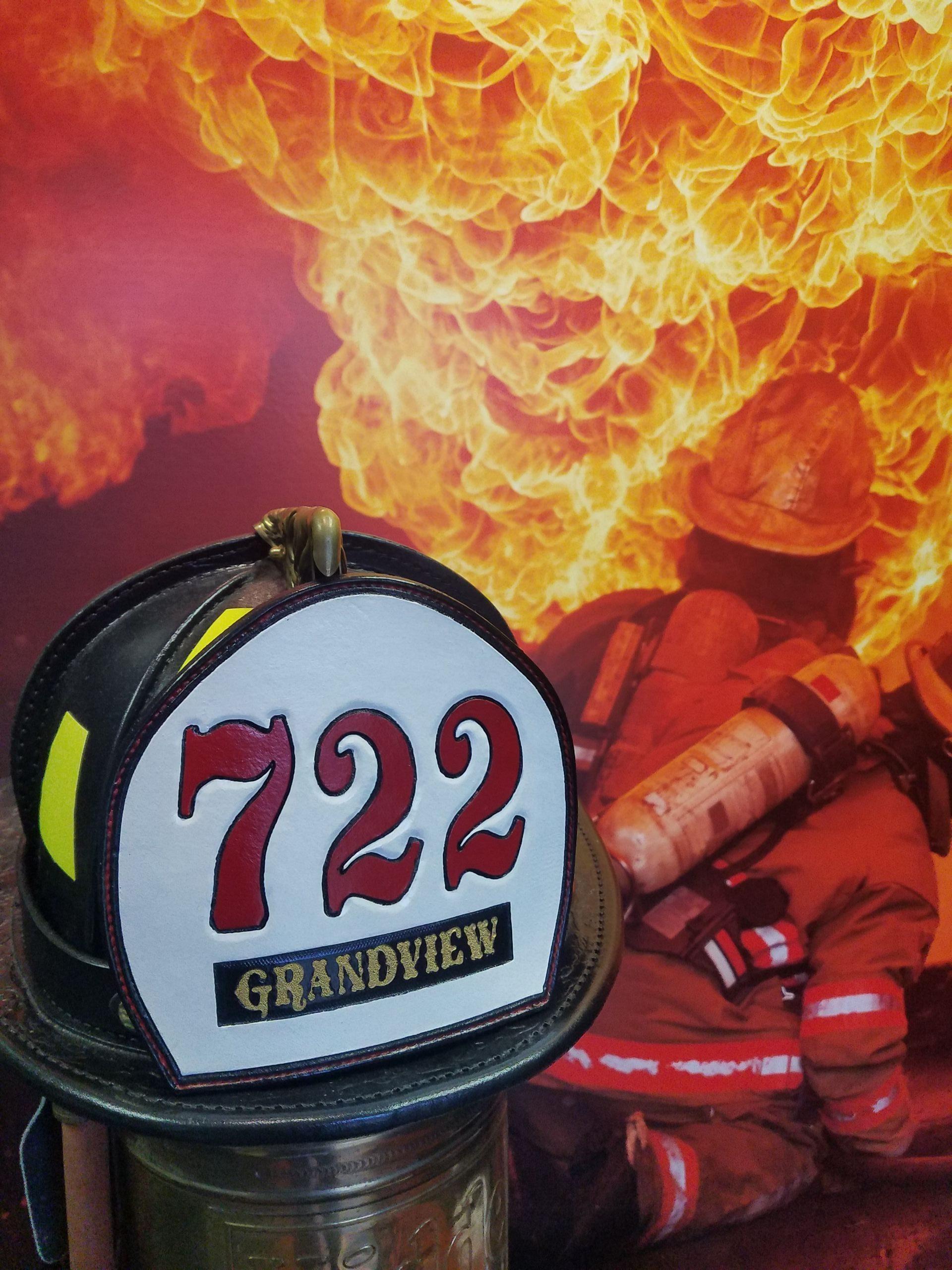 Firefighter Shields, Boston Fronts, Helmet Shields