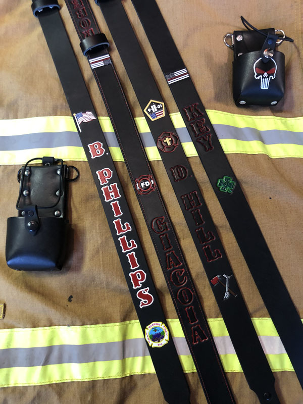 Custom Firefighter Radio Strap