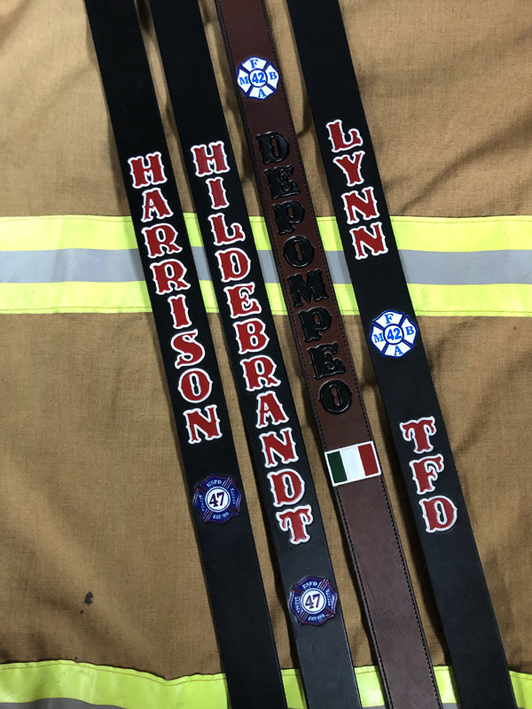 Custom Fire Radio Strap