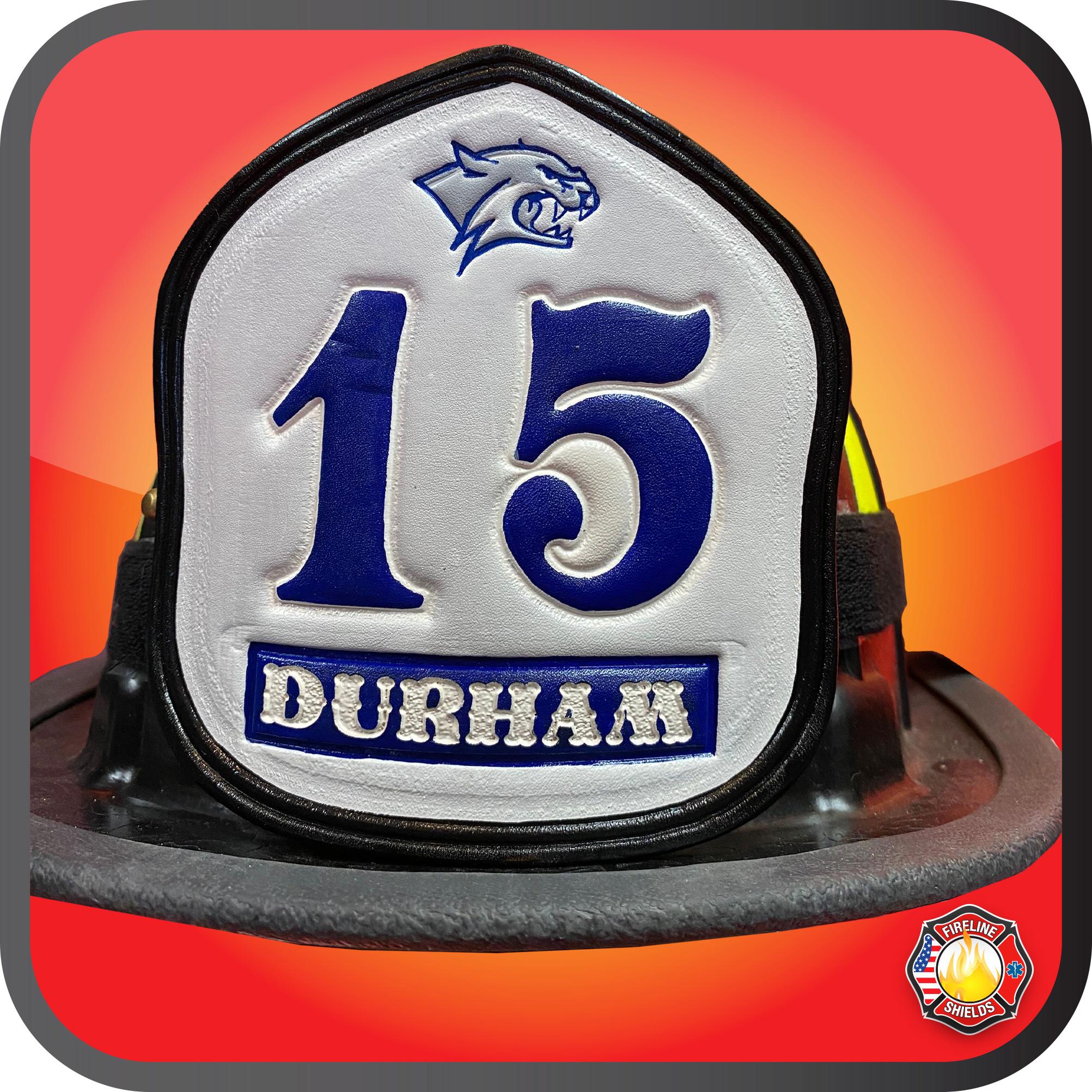 LA County Fire Helmet Shield