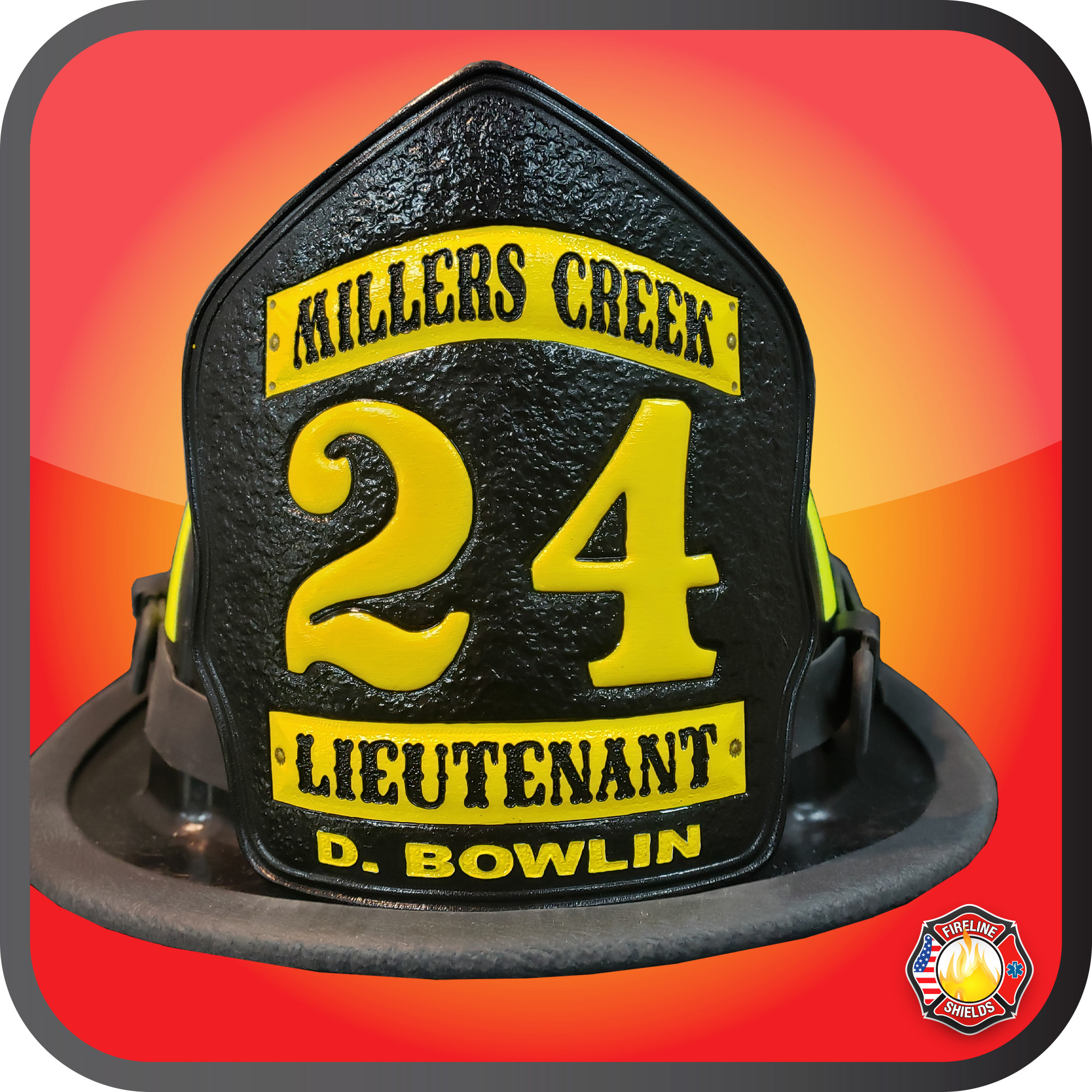 leather fire helmet fronts